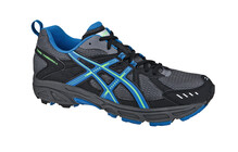 Asics Men's Trail Tambora 3 charcoal/blue/neon green